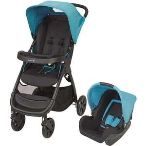 Poussette Combiné Duo Amble Safety first - Bleue