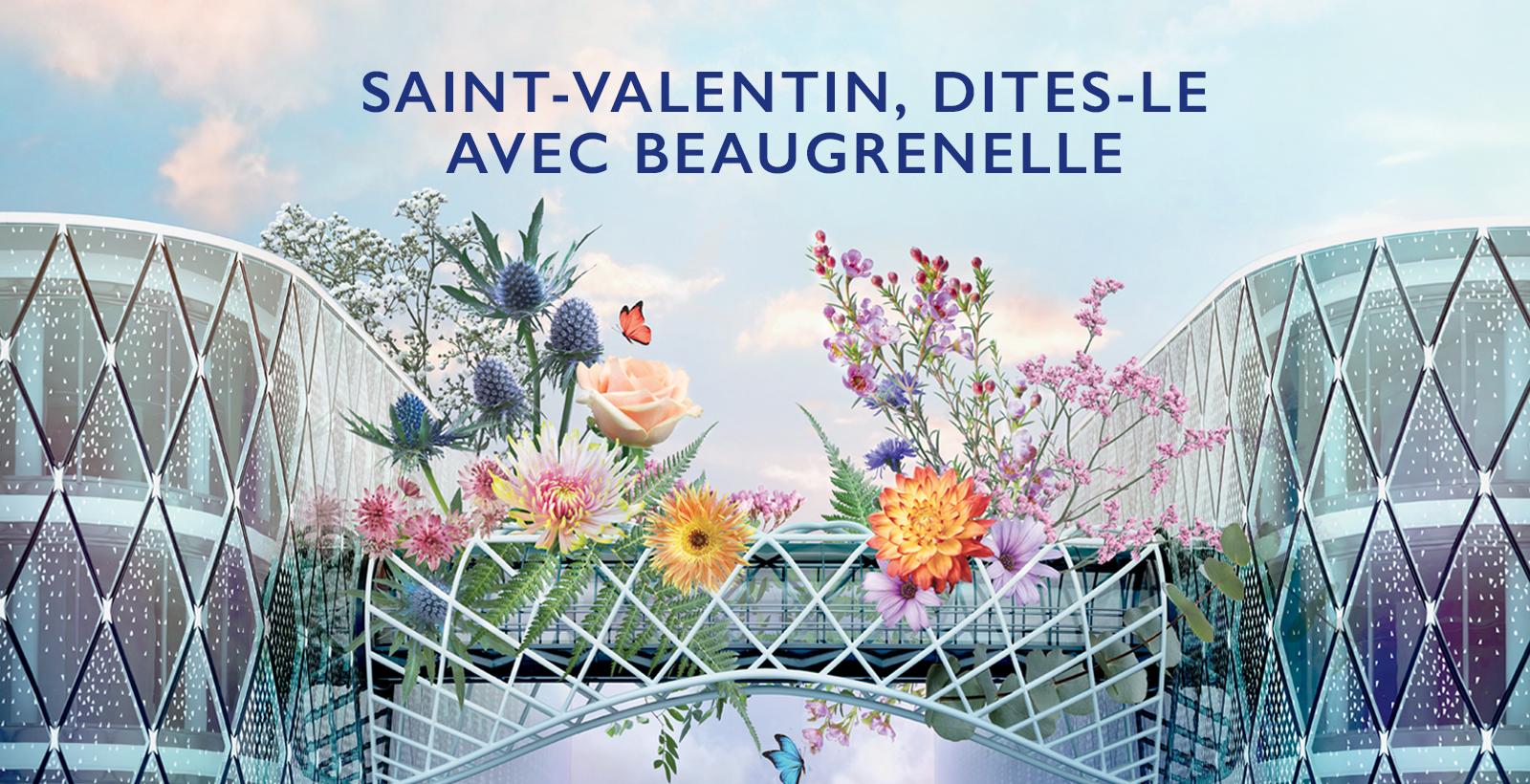 Distribution gratuite de fleurs pour la Saint-Valentin