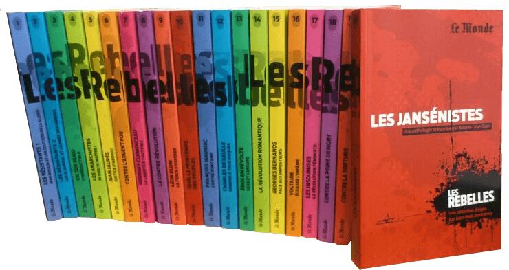 Intégrale Les rebelles - 20 volumes