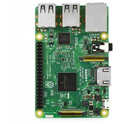 Carte de Développement Raspberry Pi 3 B (Version UK) - Quad-core ARM Cortex-A53, RAM 1Go, Wi-Fi / Bluetooth / Ethernet, 4x USB, Slot microSD