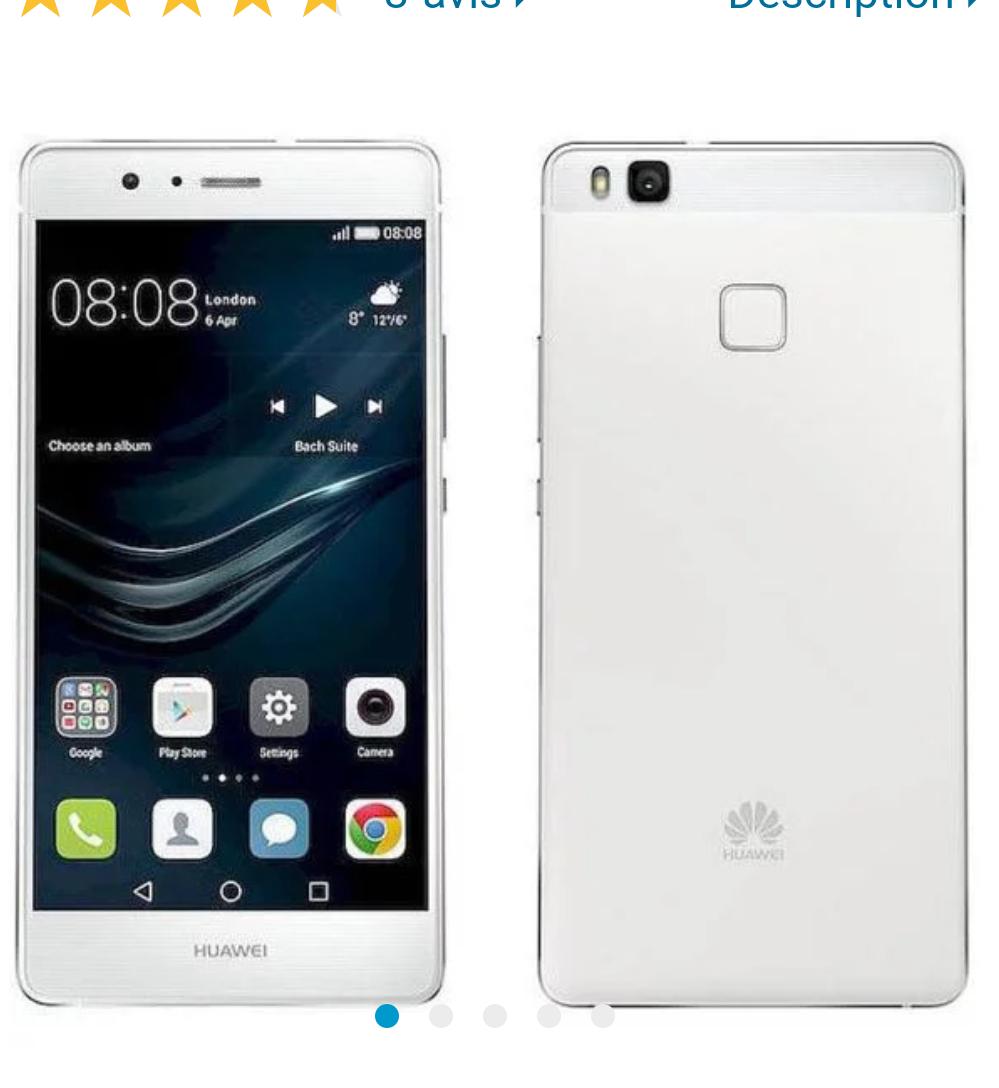 "Smartphone 5,2"" Huawei P9 Lite Blanc - FullHD, 3Go RAM, 16Go de ROM"