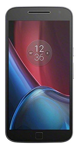 "Smartphone 5.5"" Lenovo Moto G4 Plus - Full HD, SnapDragon 617, 2 Go RAM, 16 Go, Noir (vendeur tiers)"