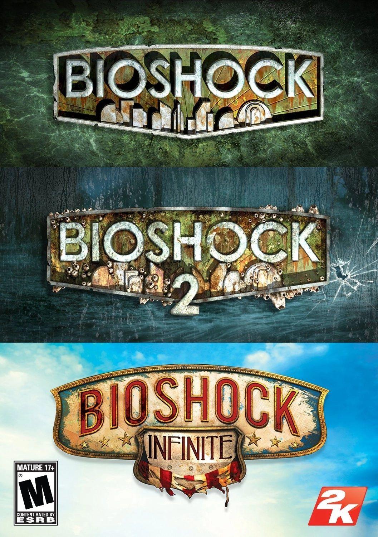Bioshock Trilogy: Bioshock + Bioshock 2 + Bioshock infinite sur PC (Dématérialisé - Steam)