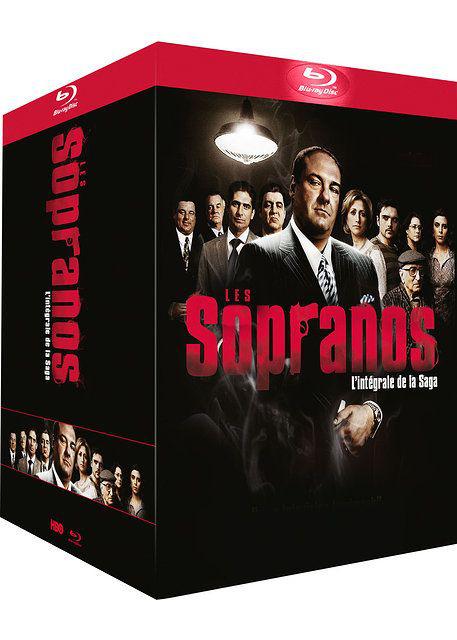 Coffret Blu-ray Les Soprano - L'intégrale