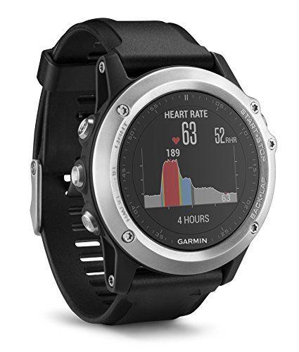 Montre multifonction GPS Garmin Fenix 3 HR