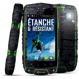 Smartphone étanche Crosscall Odyssey+ Military (ODR 50€)