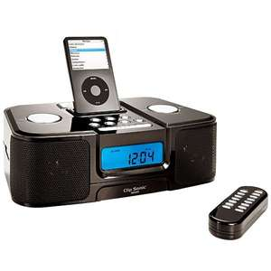 Station radio réveil CLIP SONIC Compatible iPod et MP3