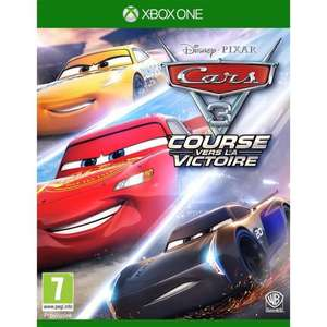 Cars 3 sur Xbox One