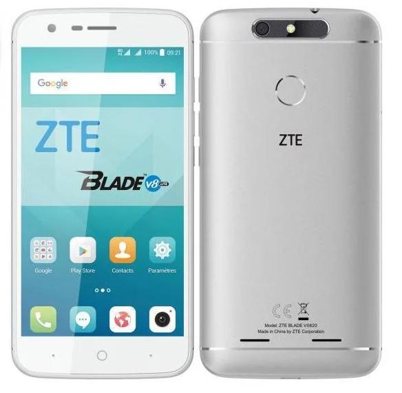 """Smartphone 5"""" HD ZTE Blade V8 Lite 4G (MT6750, 2 Go RAM, 16 Go ROM, slot SD, dual Sim, Android 7.0) - via ODR 50€"""