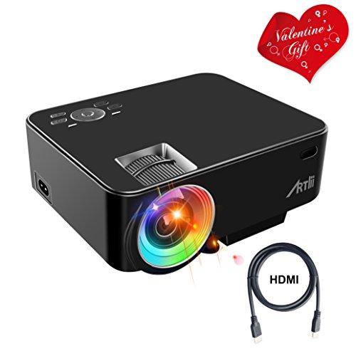 Vidéoprojecteur LED Artlii - 800x480 pixels (Vendeur Tiers)
