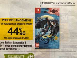 Bayonetta 2 sur Switch