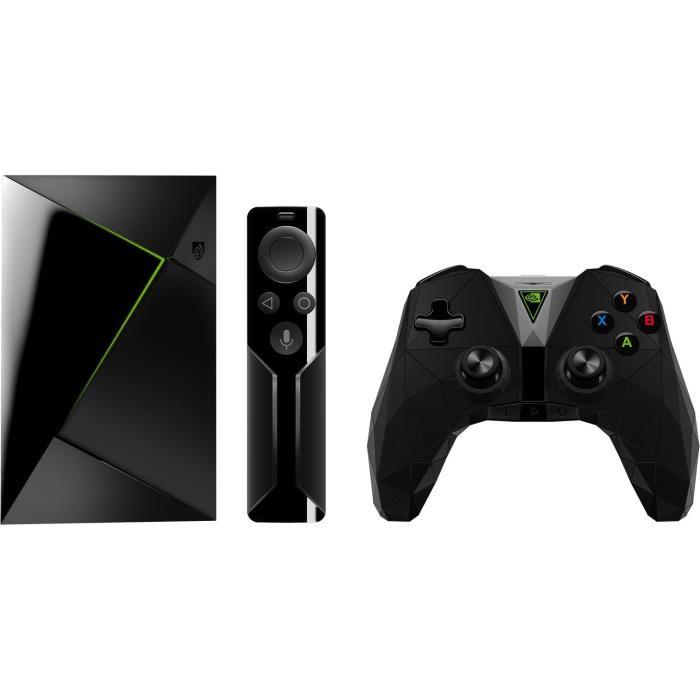 [Cdiscount à volonté] Station multimédia Nvidia Shield TV - 4K HDR, RAM 3 Go, eMMC 16 Go + Télécommande et Manette