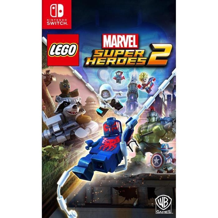 Lego Marvel Super Heroes 2 Jeu sur Switch