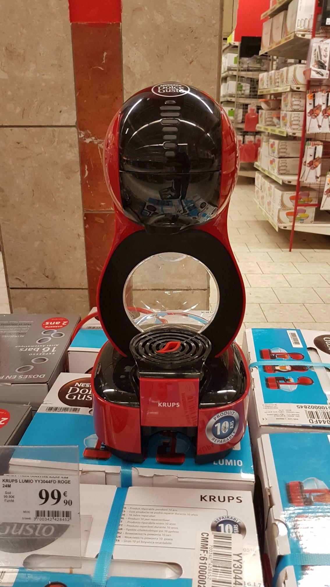 Machine à café Krups Lumio Dolce Gusto - Rouge (Bagnolet 93)