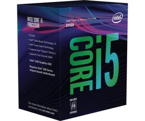 Processeur Intel Core i5-8400 - 2.8 GHz à 4GHz