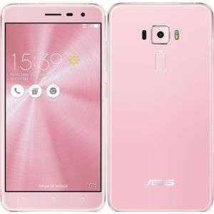 """Smartphone 5.5"""" Asus Zenfone 3 ZE552KL Rose - IPS Full HD, Snapdragon 625, 3 Go de RAM, 32Go de ROM"""