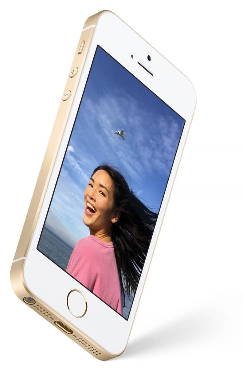 "Smartphone 4"" Iphone SE (Coloris au choix) - 128 Go"