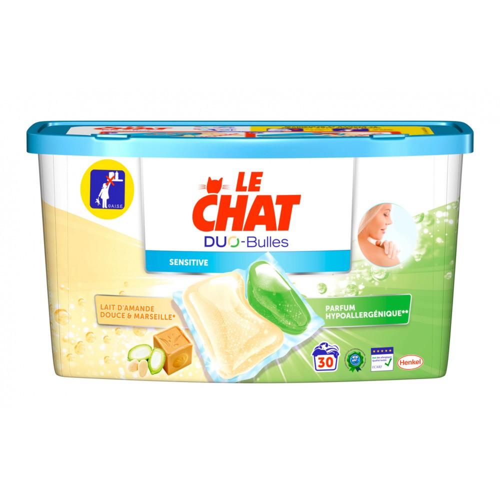 Sélection de Produits en Promotion - Ex: Lessive Le Chat Duo-Bulles (via 6.23€ sur la Carte de Fidélité + BDR)