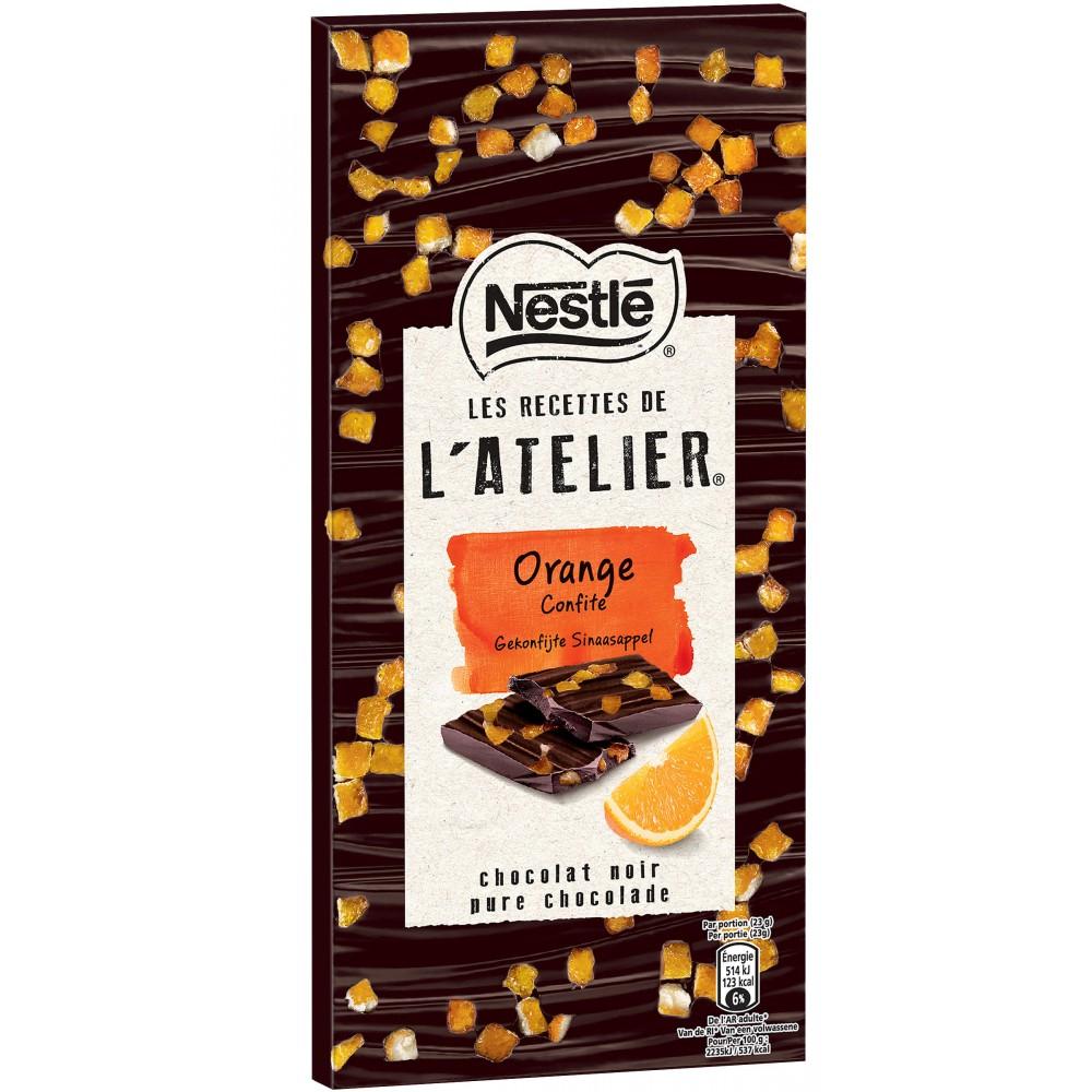 Tablette de chocolat Nestlé - Les Recettes de l'Atelier Gratuit (via BDR et Coupon Network)
