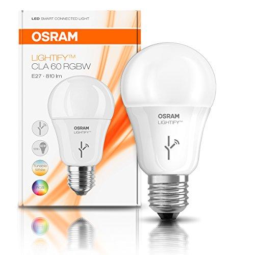 ampoule led connect e osram lightify 10 w e27 couleurs vendeur tiers. Black Bedroom Furniture Sets. Home Design Ideas