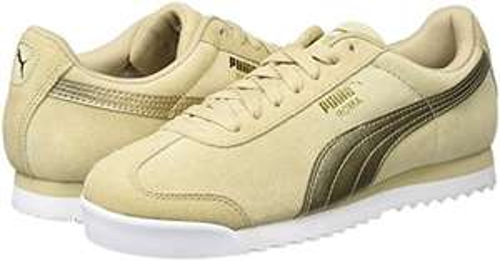 Chaussures Puma Roma Classic Met Safari - beige ou gris (tailles 37.5, 38.5, 40.5 )