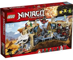 50% de réduction sur une sélection de jouets Lego - Ex : Ninjago - La grotte du Samouraï X (70596)