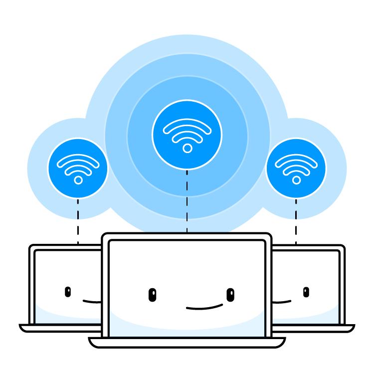 Service Hotspot Max (pour 3 PCs, valable à vie) + abonnement de 6 mois au VPN Speedify