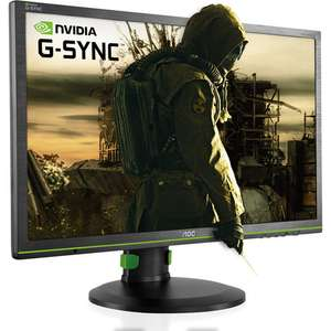 "Écran PC 24"" AOC G2460PG - full HD, 1920x1080, dalle TN, G-Sync, 144 Hz"