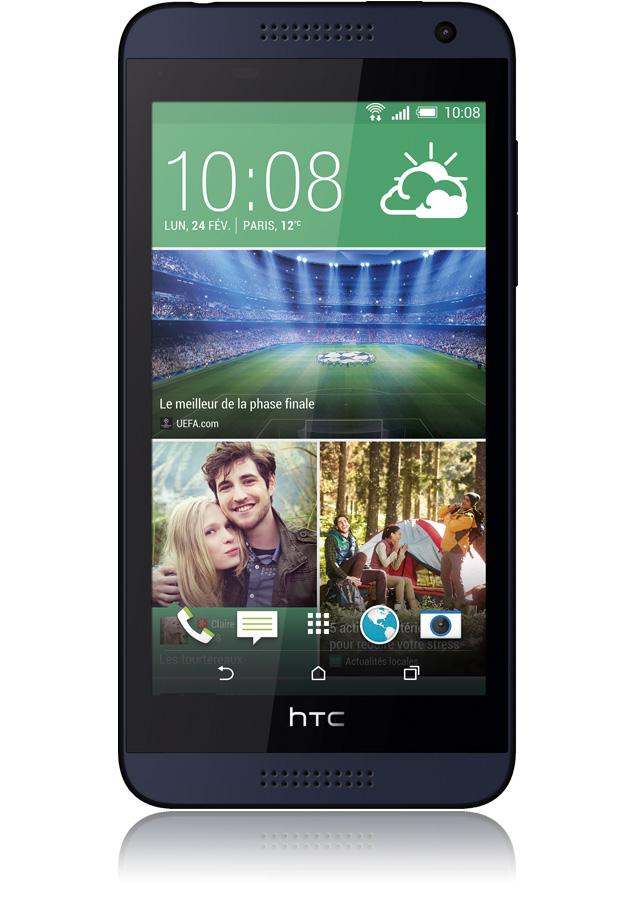 "Smartphone 4.7"" HTC Desire 610 Bleu"