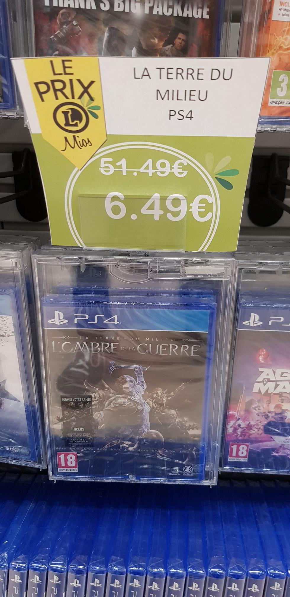 La Terre du Milieu : L'Ombre de la Guerre sur PS4 - Mios (33)