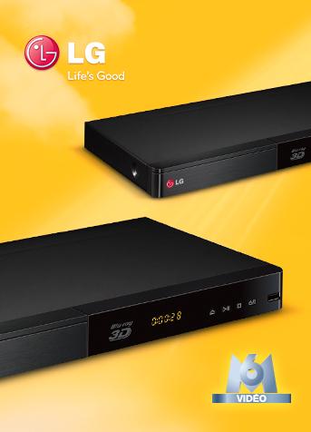 Sélection d'offres promotionnelles - Ex: Lecteur Blu-ray 3D LG BP440 + 4 Blu-ray au choix parmi une sélection (snd-m6video.fr)