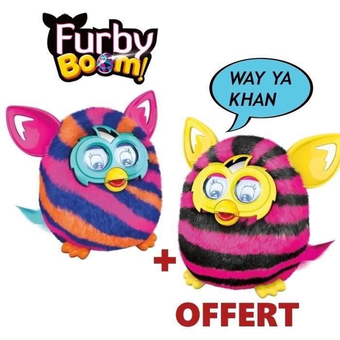 1 Furby Boom acheté = 1 offert, soit les deux