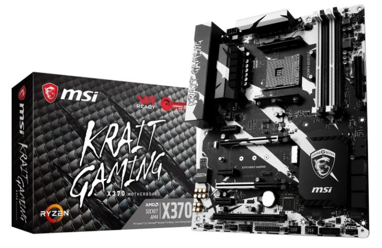 Carte mère X370 Krait Gaming  - Socket AM4  Ryzen