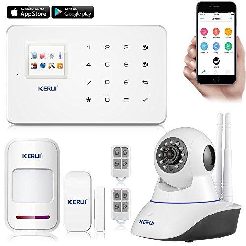Pack alarme sans fil KERUI G18 APP android iOS + caméra IP (vendeur tiers)