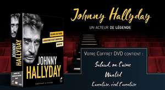 Coffret DVD Johnny Hallyday acteur