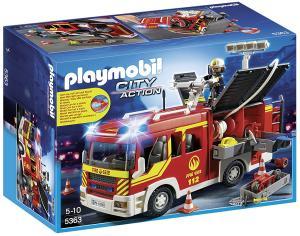 Playmobil 5363 - Fourgon De Pompiers