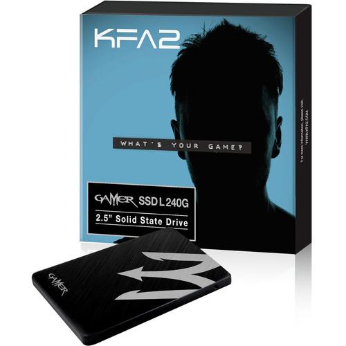 """SSD interne 2.5"""" KFA2 Gamer SSD L, 240 Go, SATA III"""