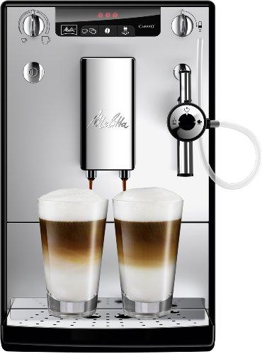 Machine à Café Automatique Melitta E957-103, Cappuccino, Café, Lait