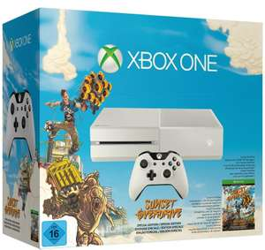 Console Xbox One Blanche + Sunset Overdrive