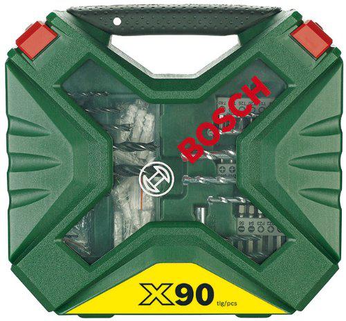 Coffret de mèches Bosch 2607010613 forets, embouts visseuse X-Line 90 pièces