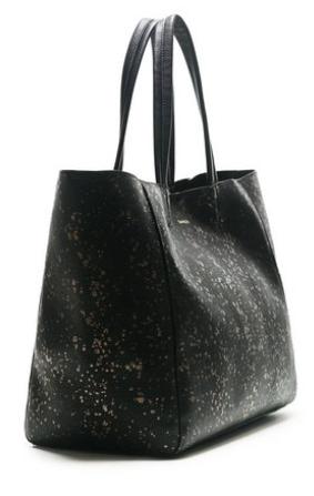 Sac Desigual Shopper Cuenca Metal Splatter - Noir