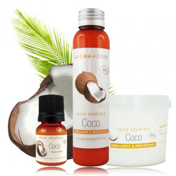 Pot de 250 ml d'huile végétale de Coco Bio offert dès 59€ d'achat