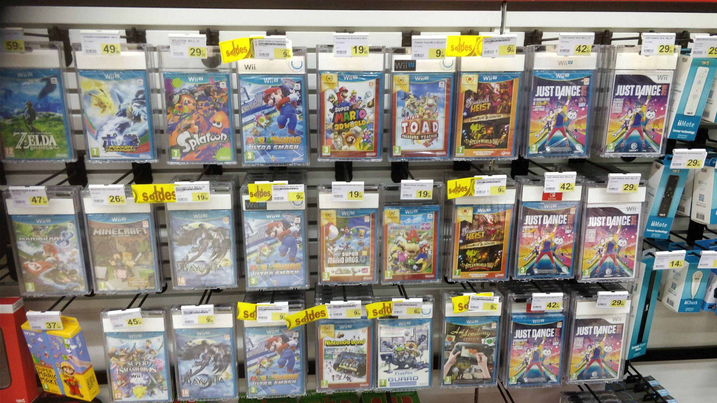 Sélection de Jeux en Soldes sur Wii U - Ex: Captain Toad: Treasure Tracker  - Blagnac (31)
