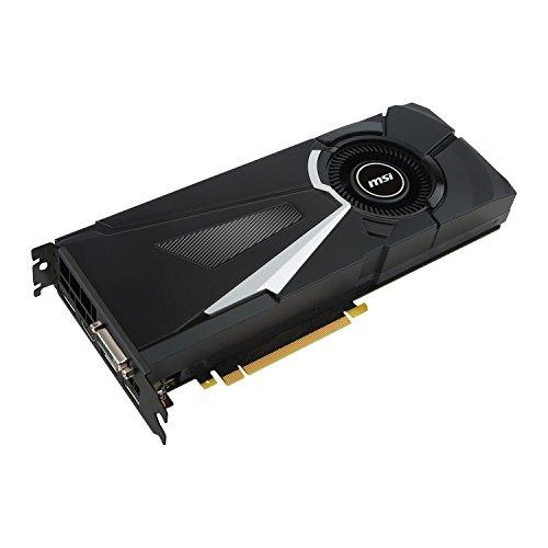 Carte Graphique MSI GeForce GTX 1080 AERO 8G OC - Noir