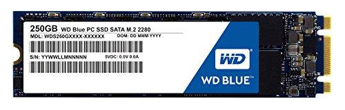 SSD interne Western Digital Blue SSD M.2 - 250 Go