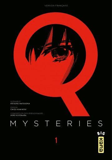 Tome1 du manga Q Mysteries gratuit sur Google Play, iBook, Kindle ou Izneo (au lieu de 4.99€)