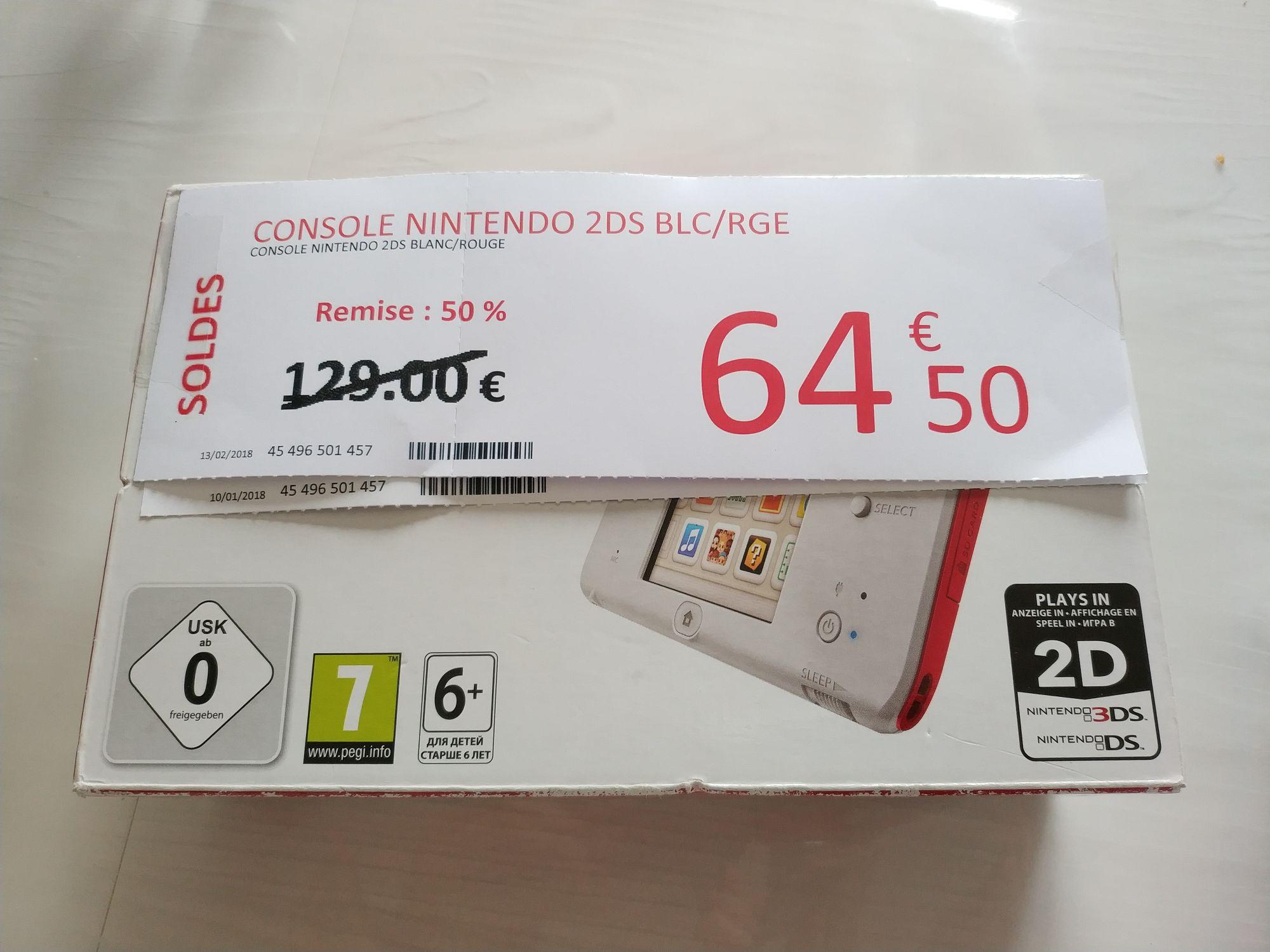 Console Nintendo 2DS Blanc/rouge - Villefranche de Lauragais (31)