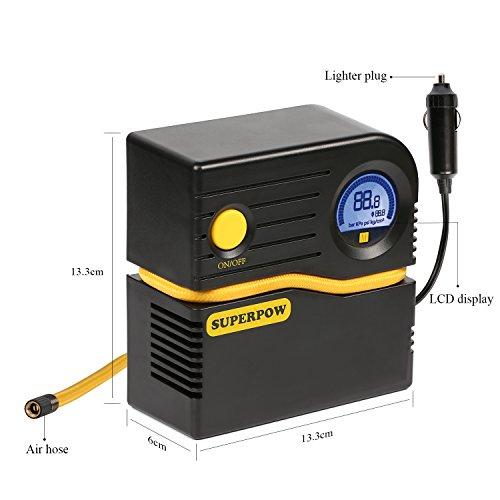 Compresseur d'air portable avec prise allume-cigare - 8 bar, 120PSI (Vendeur tiers)