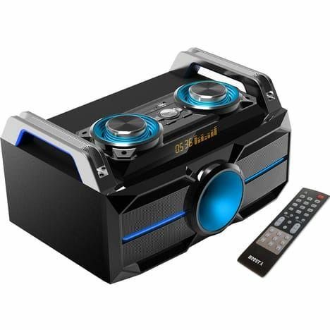 Chaîne hi-fi portable Booster inbox 180 - 140W, Noir