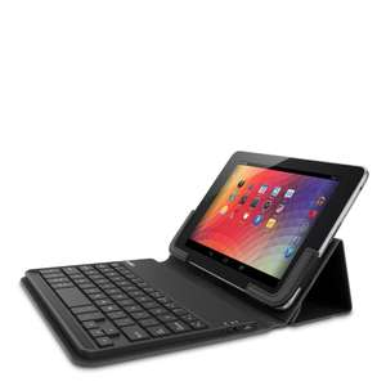 """Etui avec clavier sans fil Azerty pour tablette tactile 7"""" Belkin F5L146edBLK noir"""